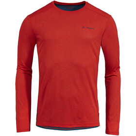 VAUDE Sveit LS T-Shirt Men mars red